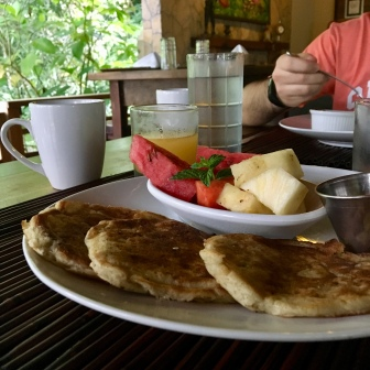 the very best thing I've ever eaten: These Banana Pancakes