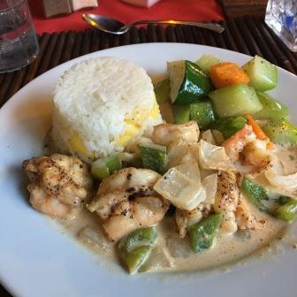 Belizean coconut curry
