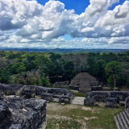View from top of Caracol Ruins